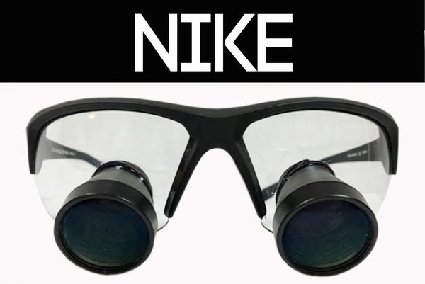 Dental loupes Nike frame